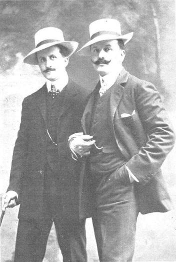 Joaquin y Serafin Alvarez Quintero
